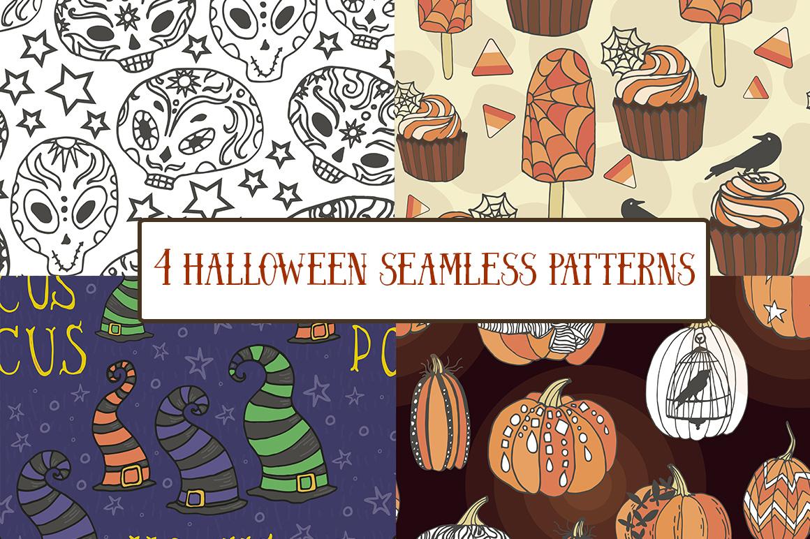 Halloween - vector set example image 4