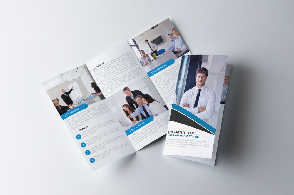 Business Innovation Trifold Brochure example image 1