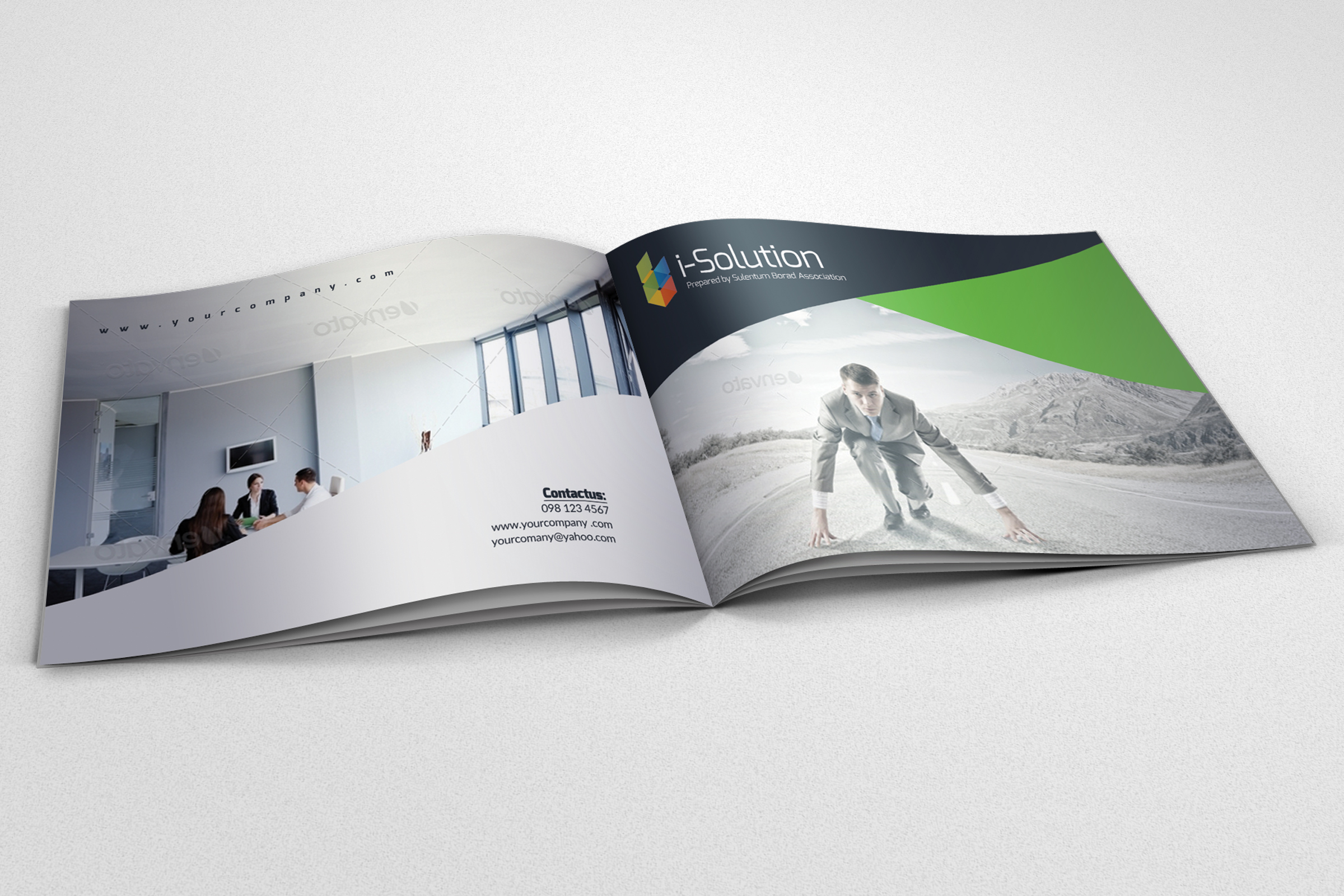 Business Innovation Bifold Brochure example image 2