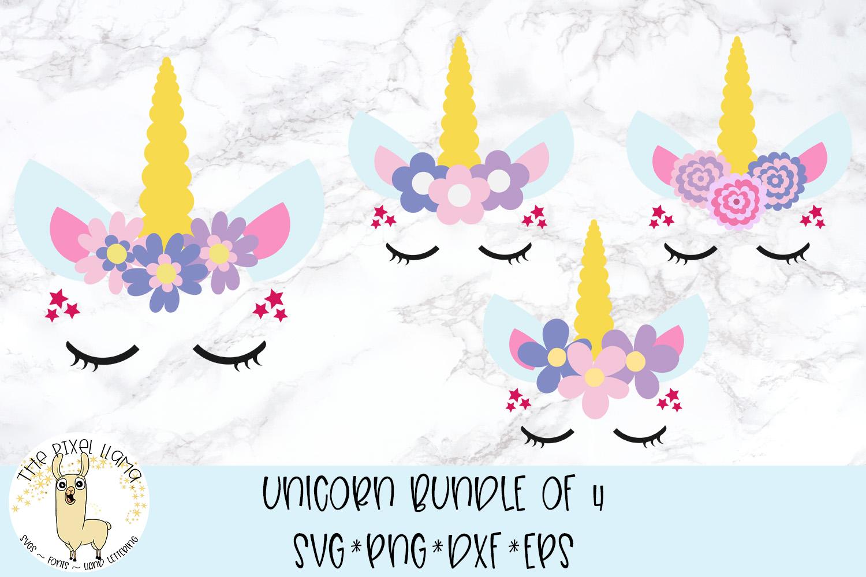 Unicorn Bundle SVG Cut File example image 1