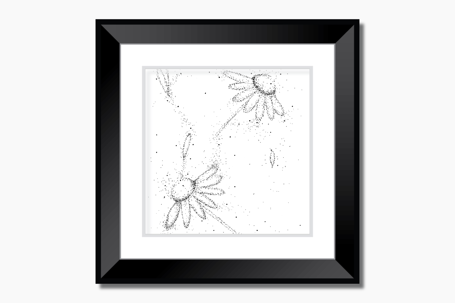 Doodle Flowers Art, A1, SVG example image 5