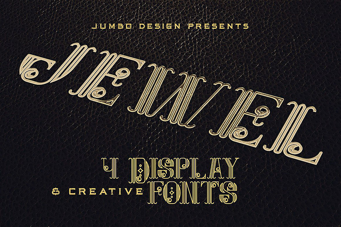 Jewel - Display Font example image 1
