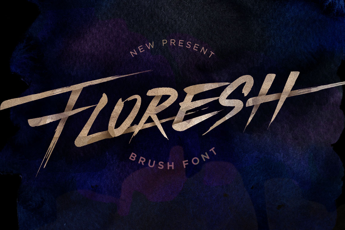 Floresh Typeface example image 1