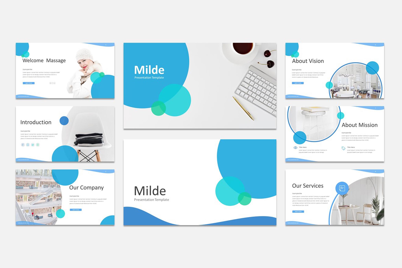 Milde - Multipurpose Powerpoint Presentation Template example image 5