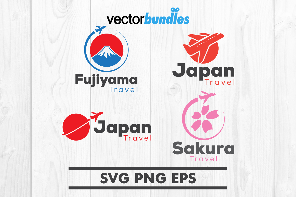 Japan traveling clip art svg example image 1