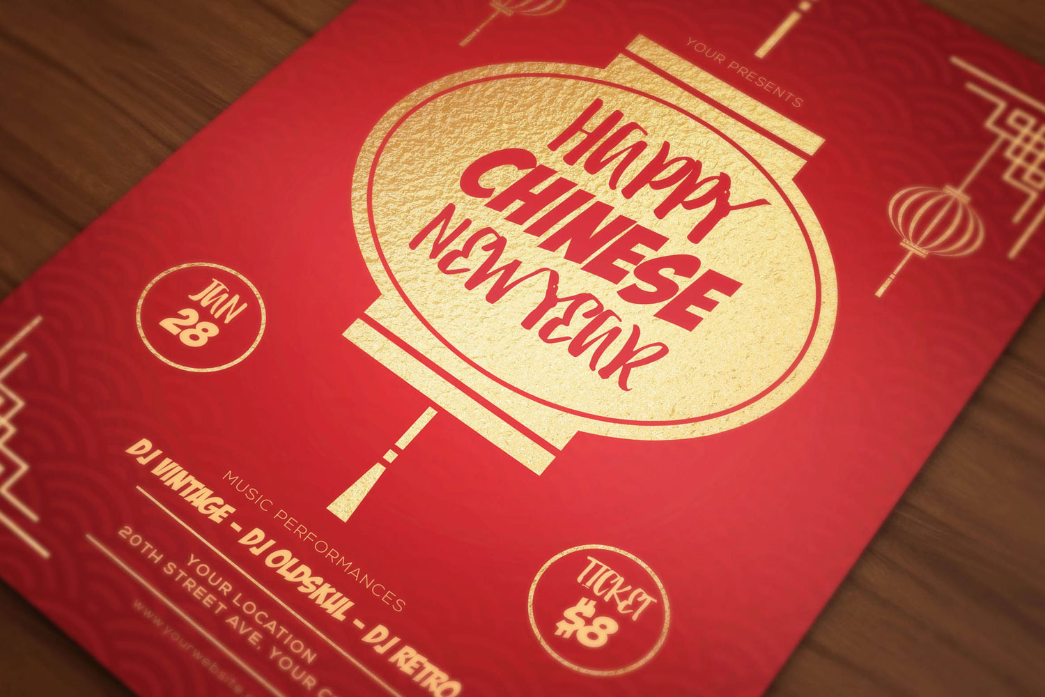 Chinese New Year Flyers example image 2