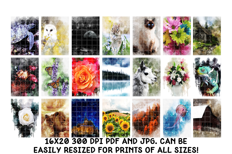 Digital Art Prints- Art Shop In A Box- Art Bundle example image 6