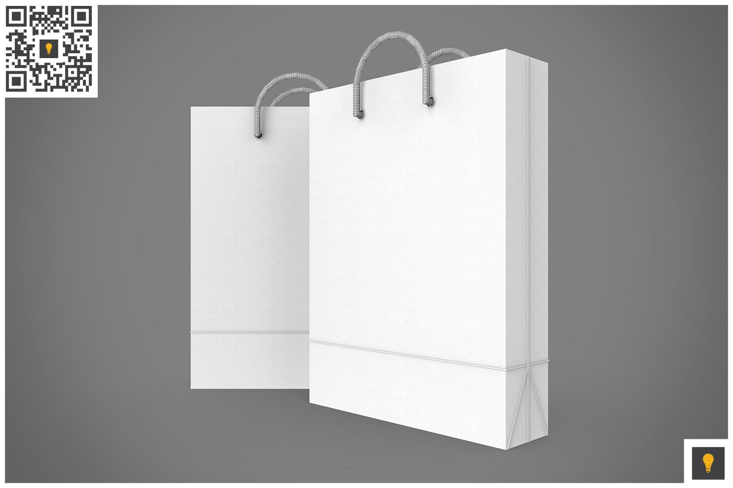 Shopping Bag 3D Render example image 2