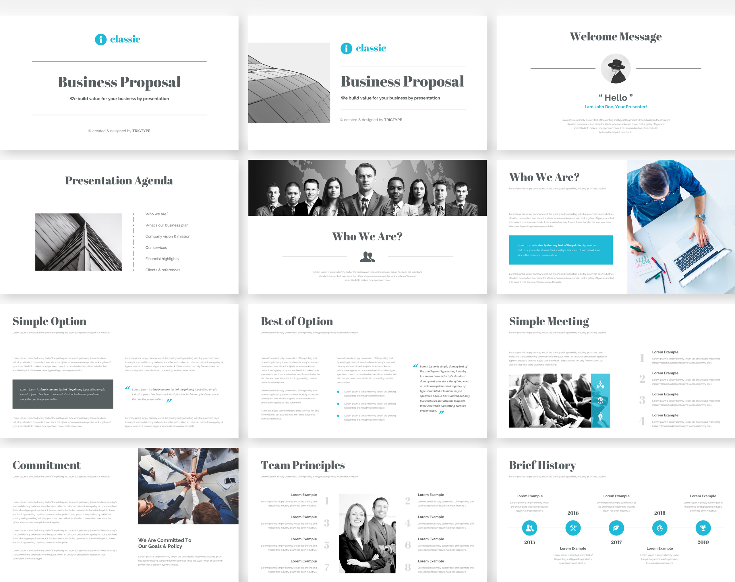 Business Proposal Google Slides Template example image 2
