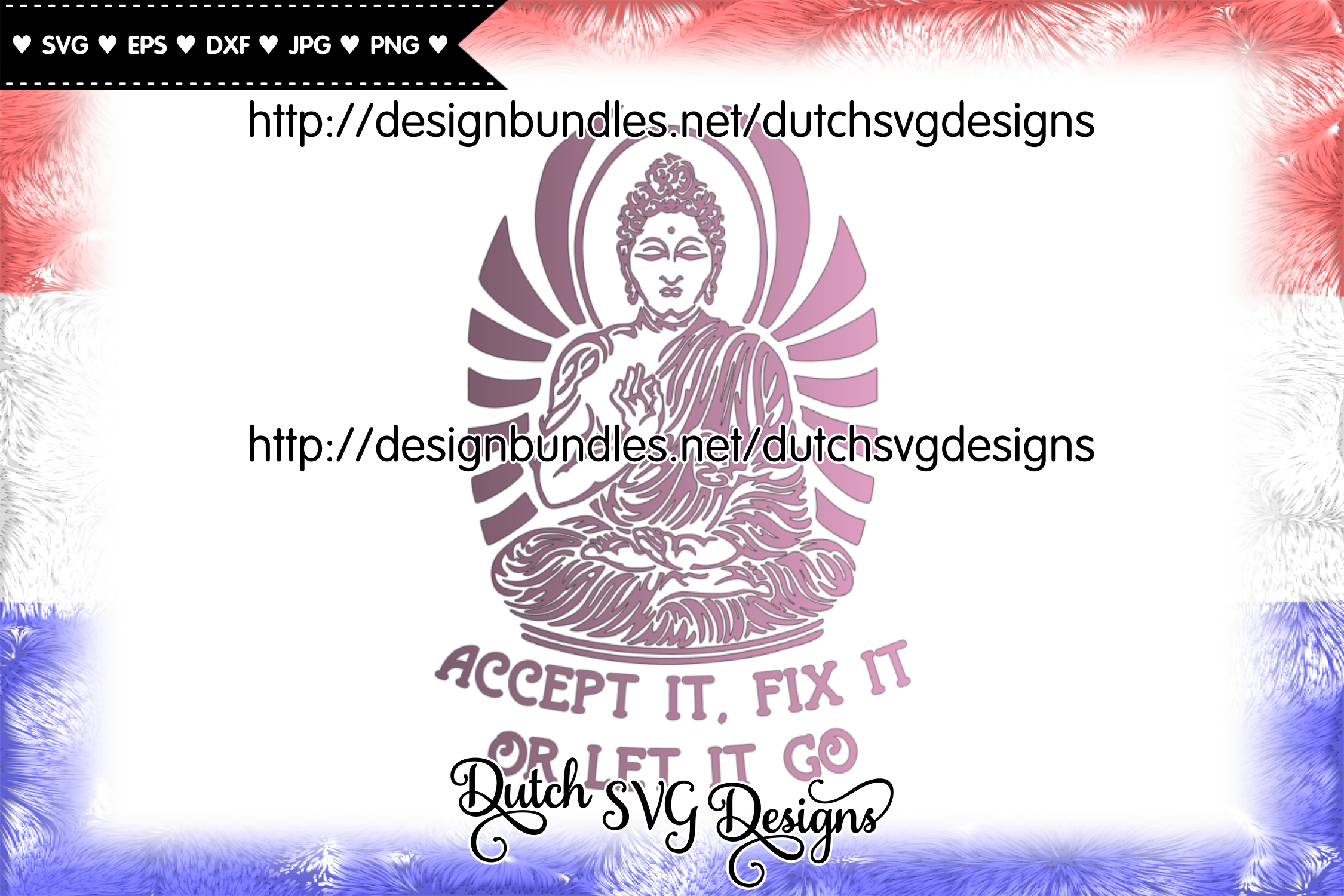 Text cutting file with buddha, buddha vector, buddha svg example image 3