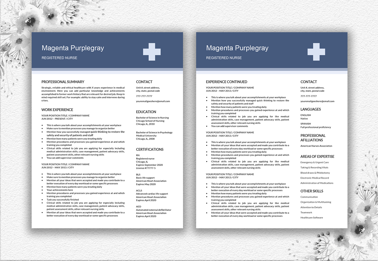 Medical Resume Template example image 5