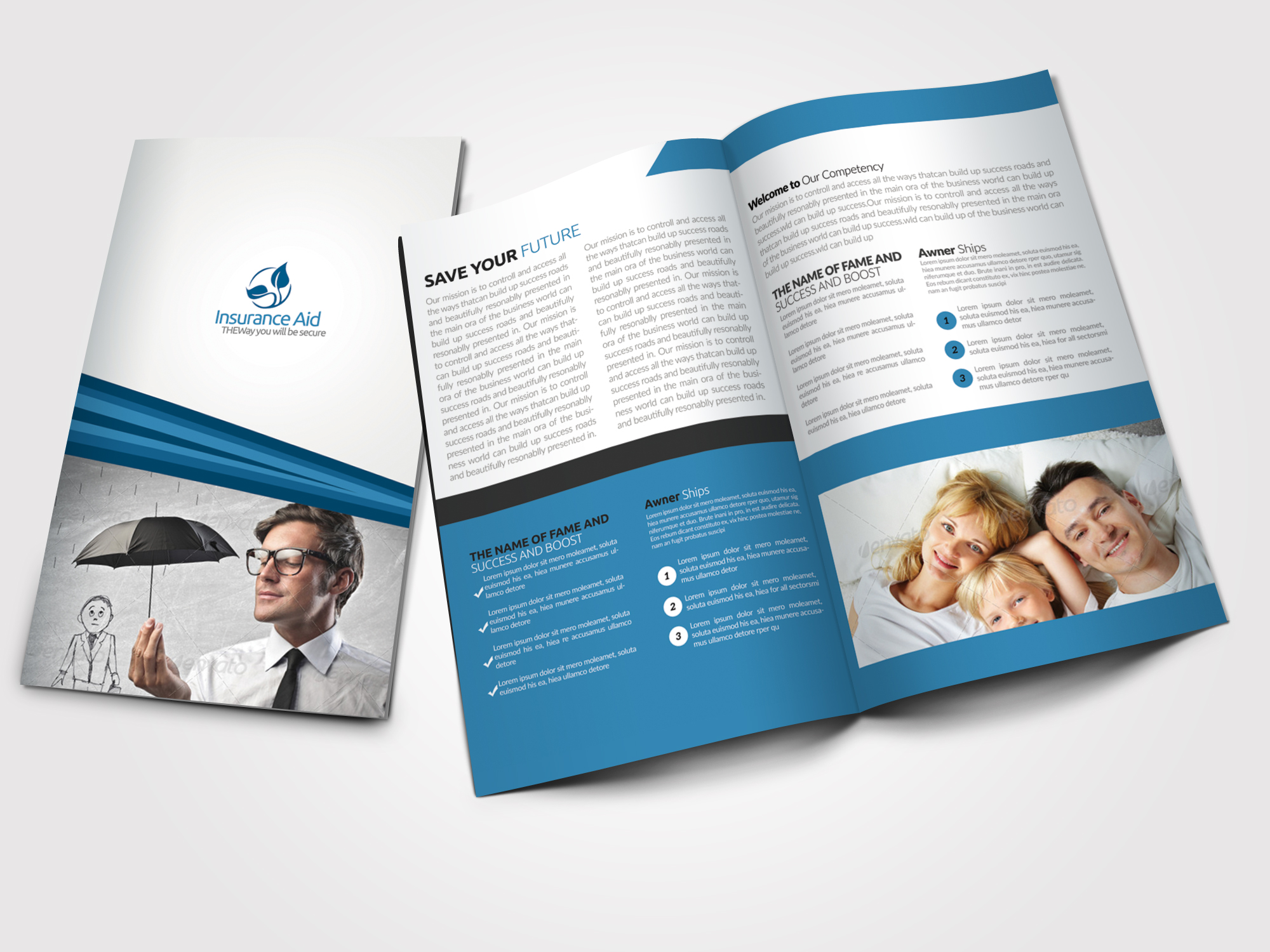 Business Solution Bifold Brochures example image 1