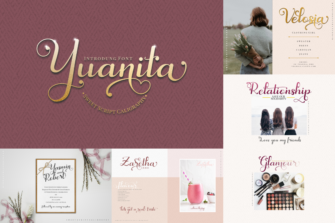 Best Crafting Font Bundles! 126 Fonts ! example image 3