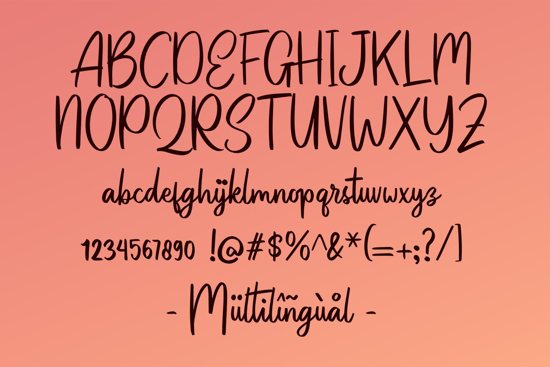 Patinson Script example image 4