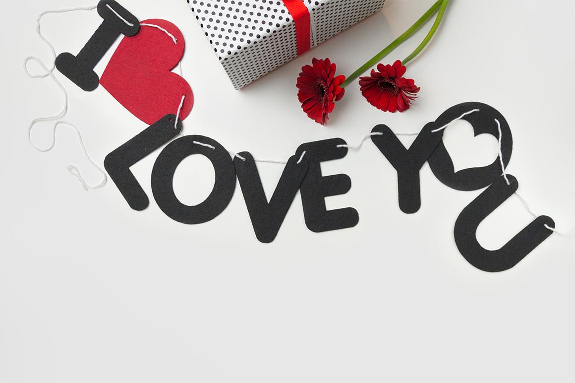Valentine's Styled Photo Bundle - Red example image 5
