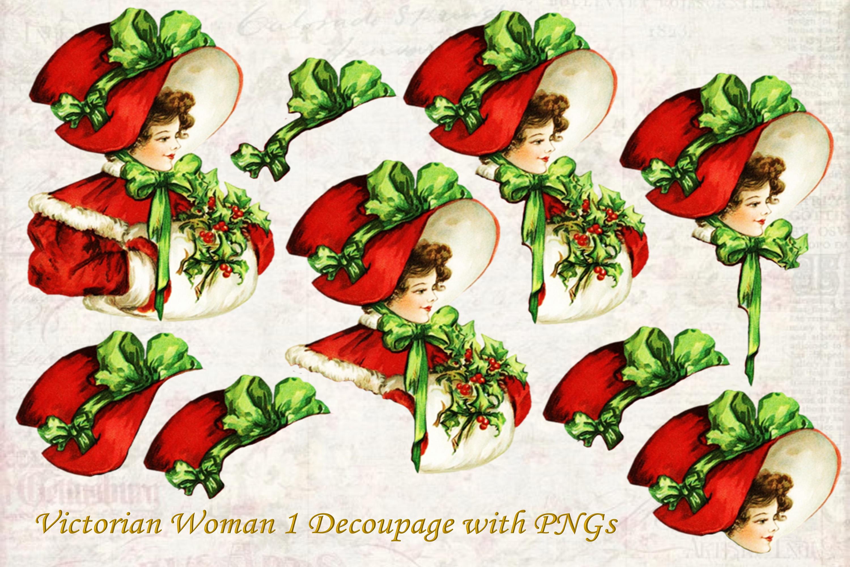 Vintage Ephemera and CLipart Bundle example image 3