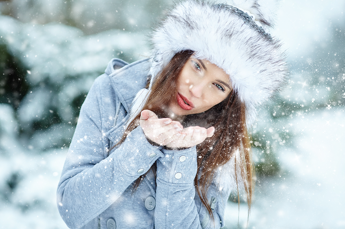 Snow Photoshop Action example image 7