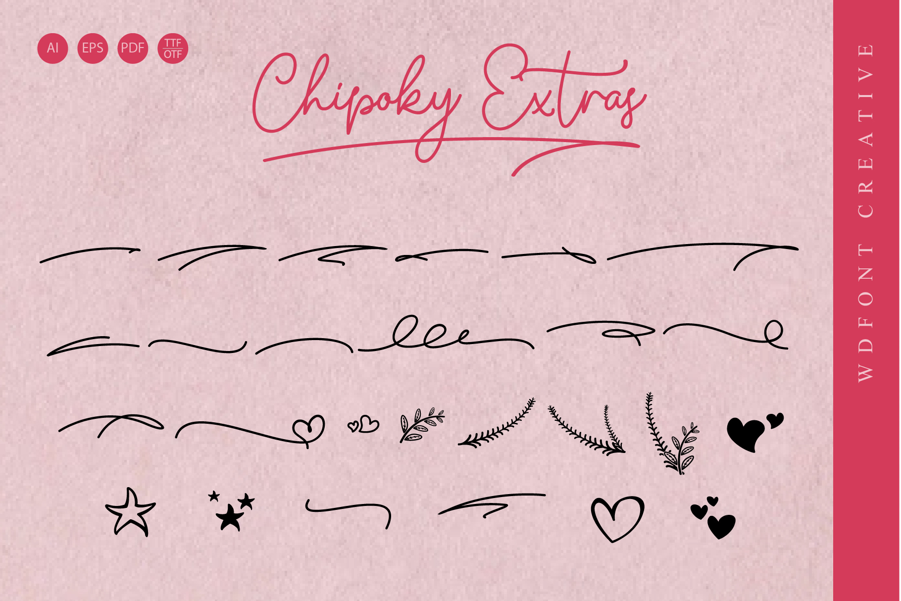 Chipoky | A Handwritten Font example image 4