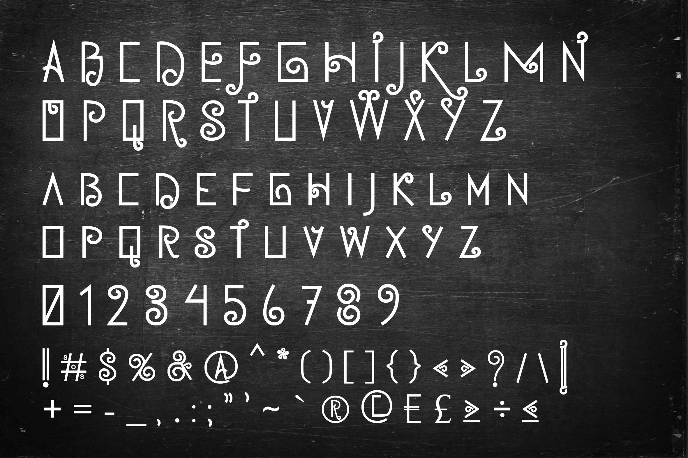 Jamoe Font example image 3