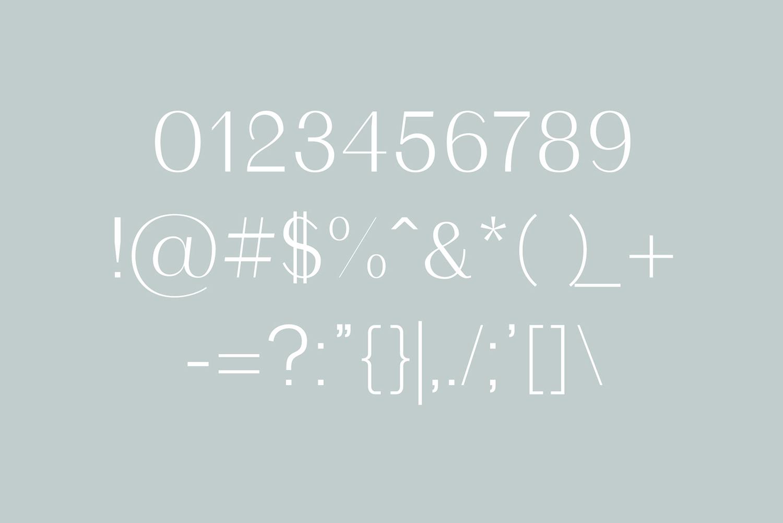 Malak Sans Serif Font Family example image 3