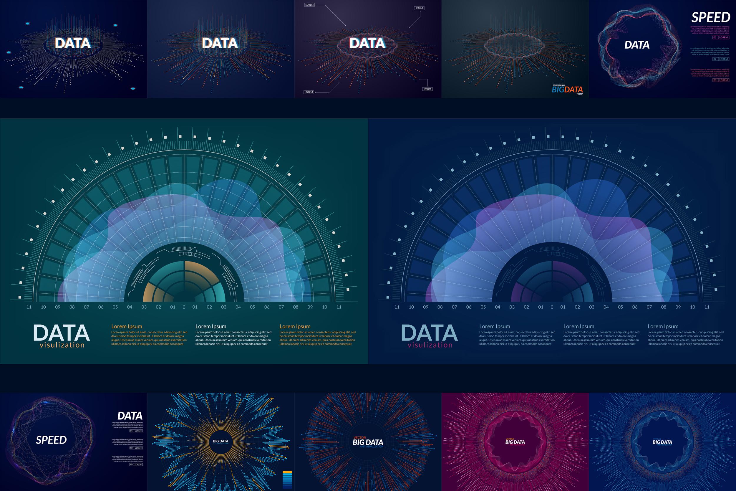Big Data Backgrounds example image 2
