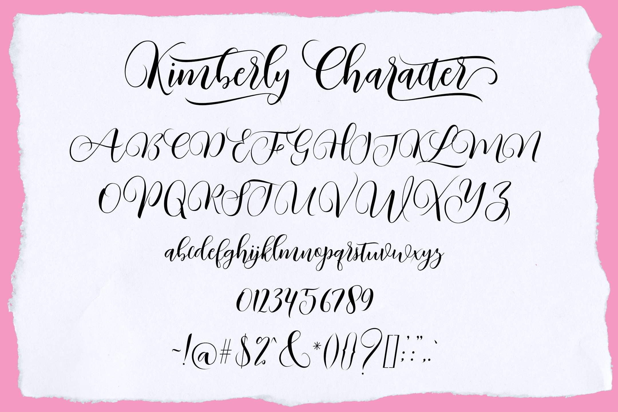 Kimberly Script example image 7