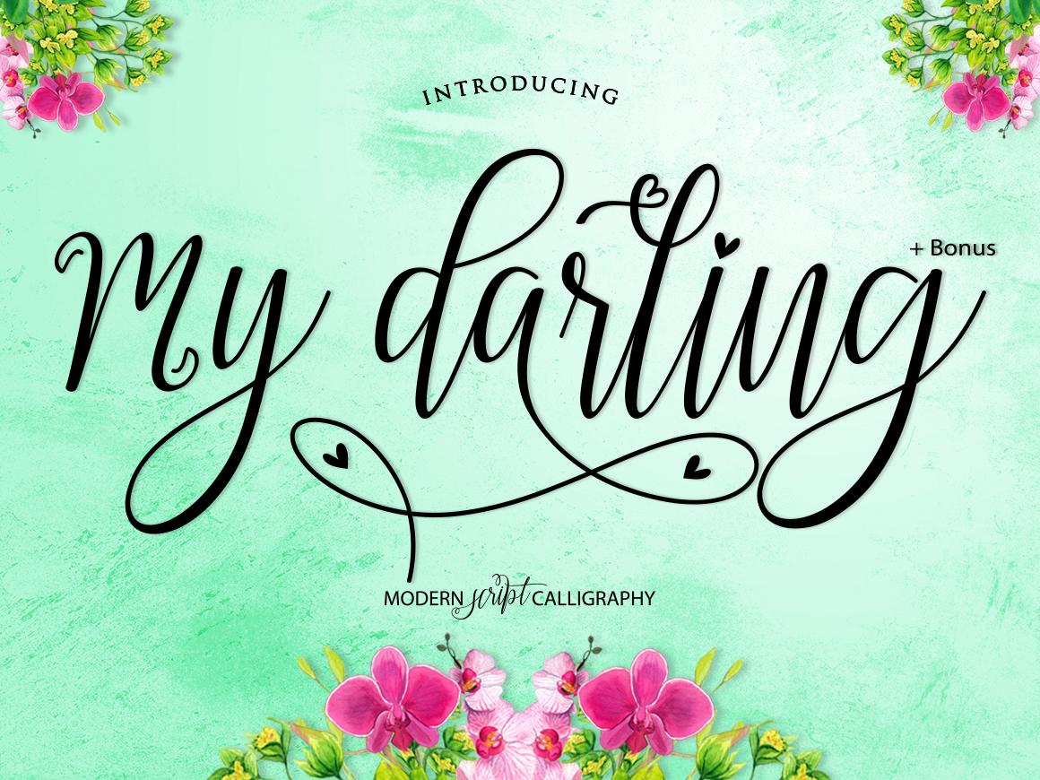 My Darling Script  Bonus example image 2