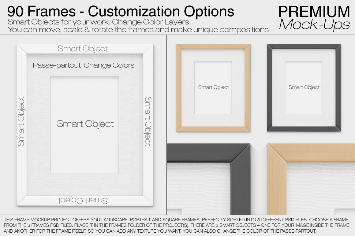Pillows & Frames Set example image 14