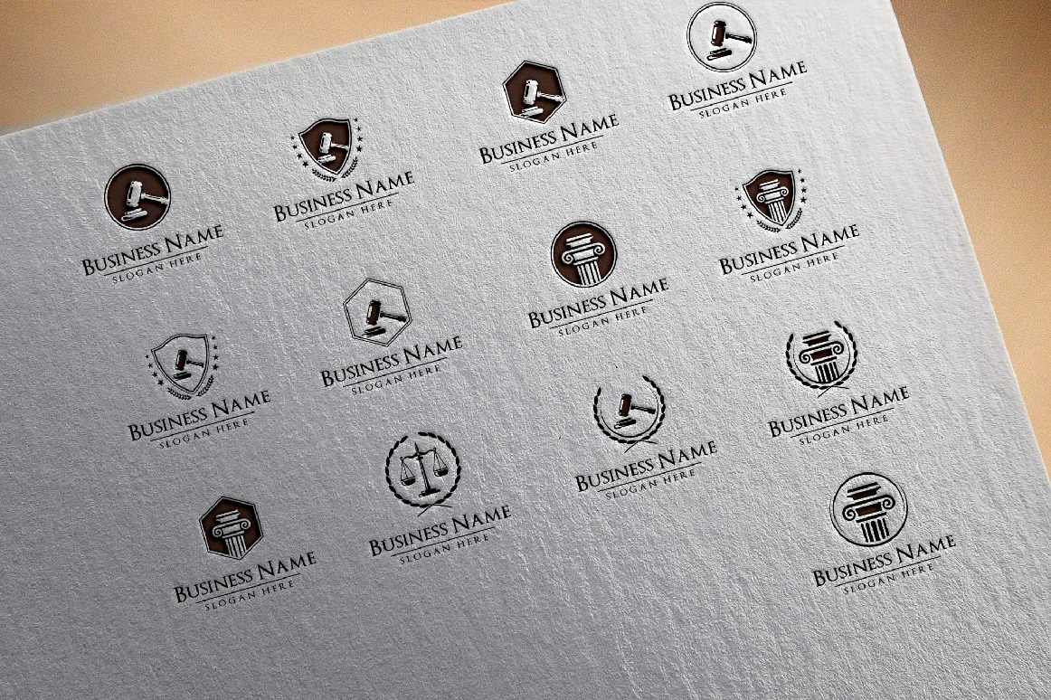 legal, law, lawyer, attorney, law office logo example image 4