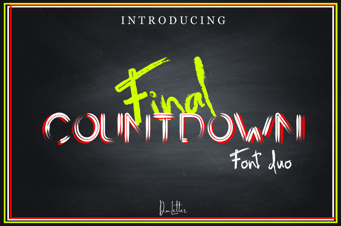 Final Countdown example image 1