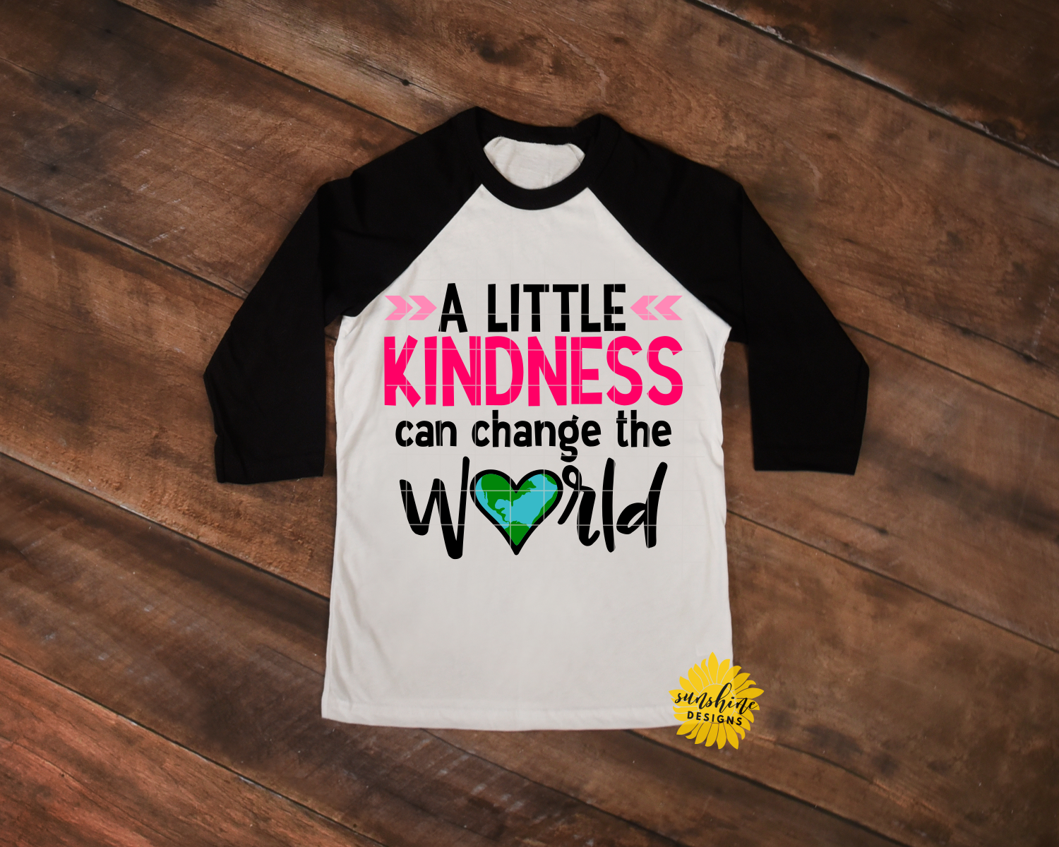 KINDNESS CAN CHANGE THE WORLD | ANTI-BULLYING | SVG DXF PNG example image 2
