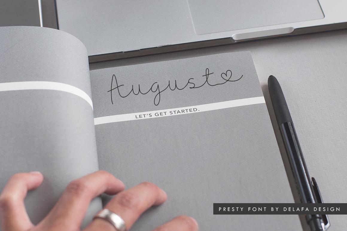 Presty - Regular & Light Styles example image 22