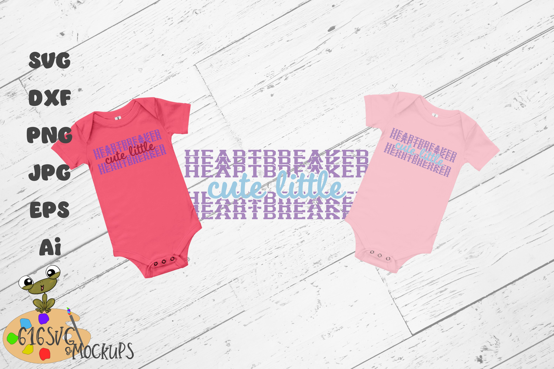Cute Little Heartbreaker SVG example image 2