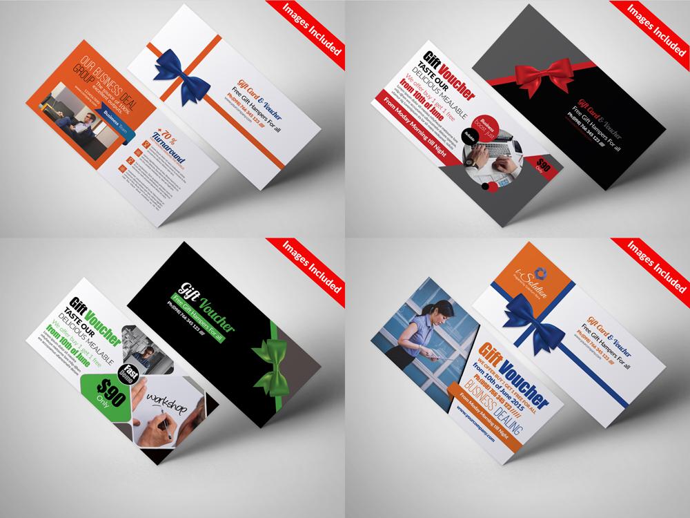 10 Business Vouchers Templates Bundle example image 4
