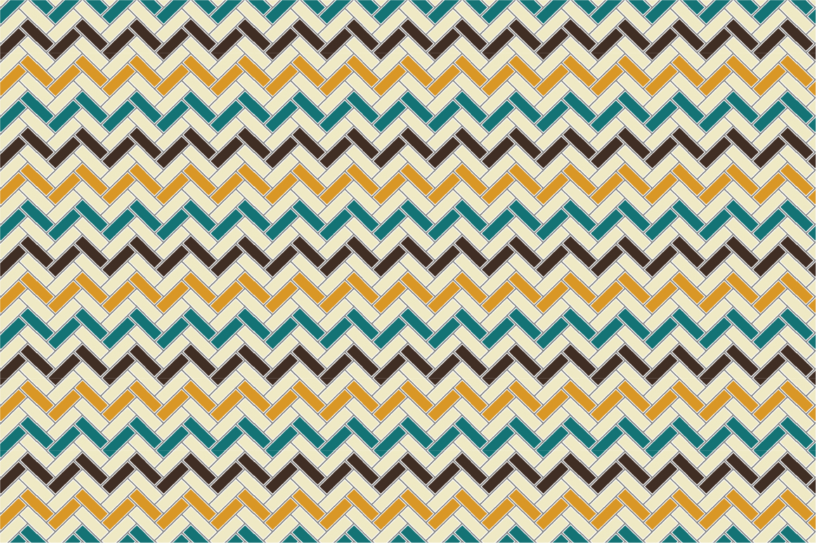 Retro patterns - seamless. example image 6