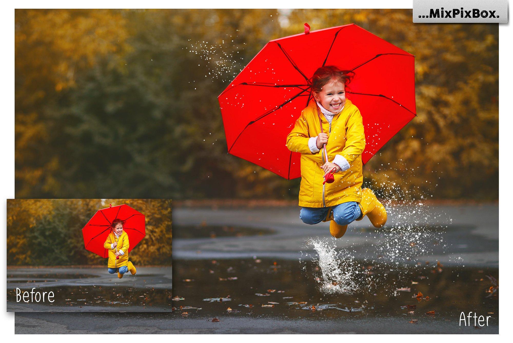 Water Splash Photo Overlays example image 2