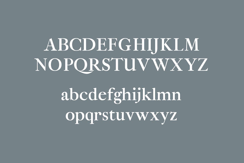 Eadita Luxury Serif Font Family example image 2