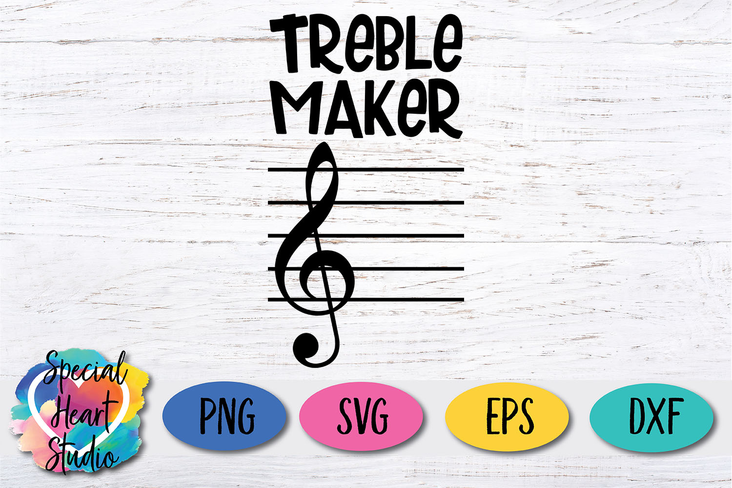 Treble Maker SVG - Music Teacher, Band Director, Orchestra example image 2