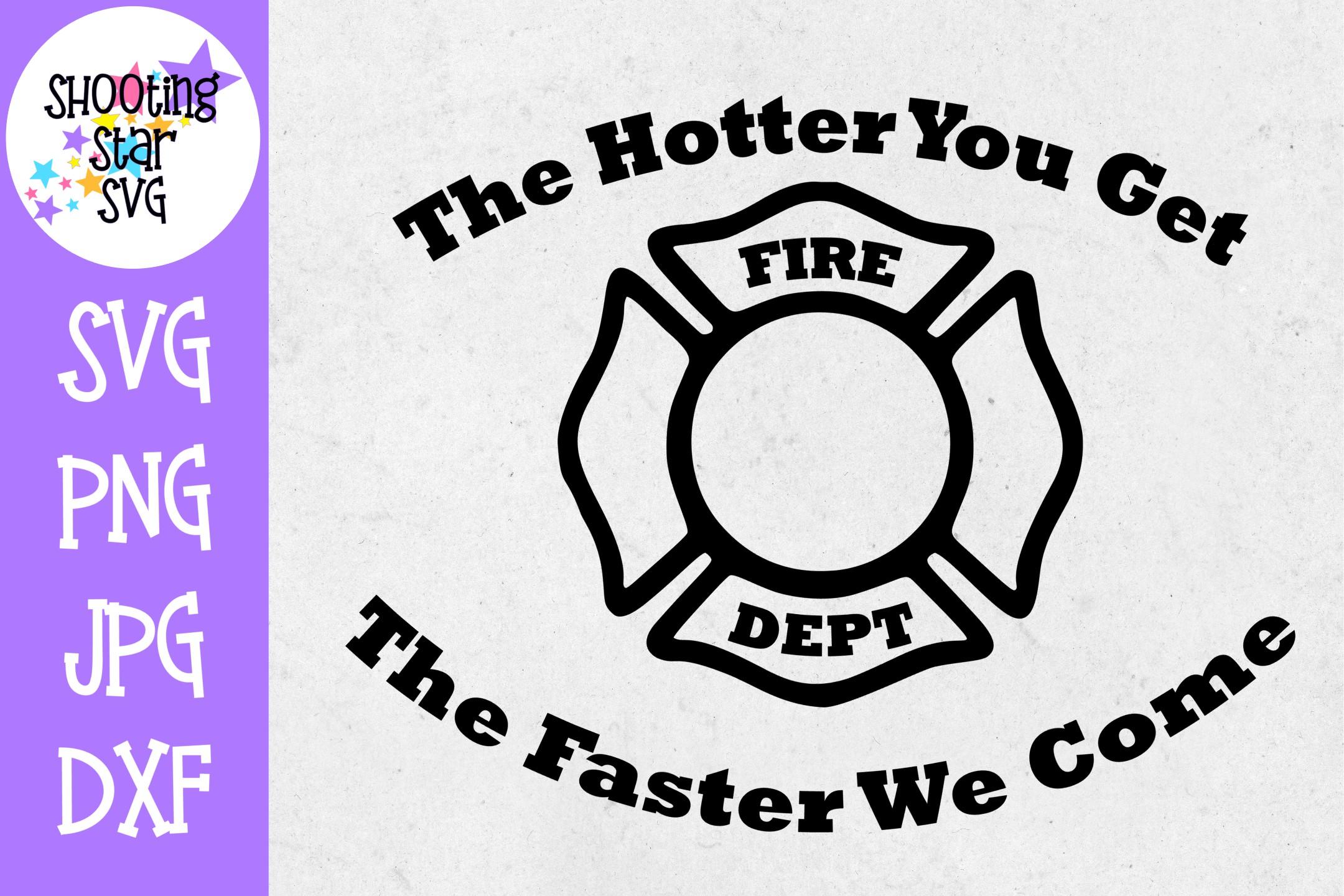 Firefighter Shirt SVG Bundle - Firefighter SVG - Fire SVG example image 3