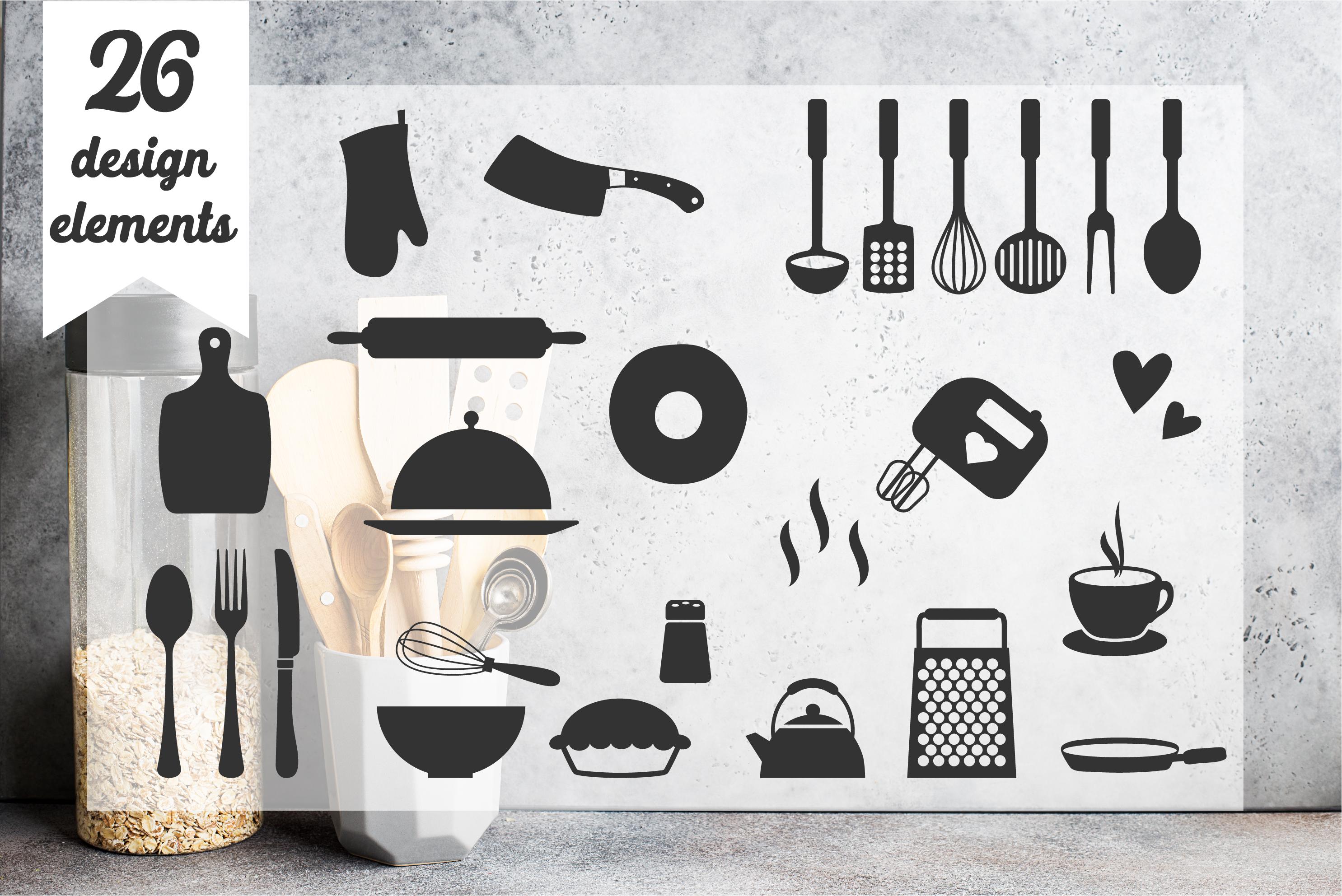 Ultra BIG Kitchen SVG Bundle example image 4