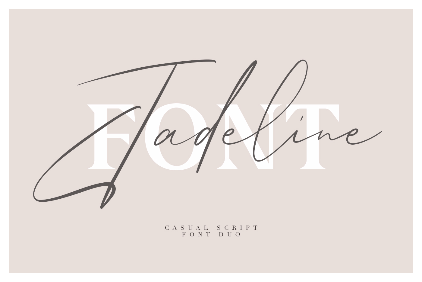 Jadeline Script - Free Serif Font example image 1