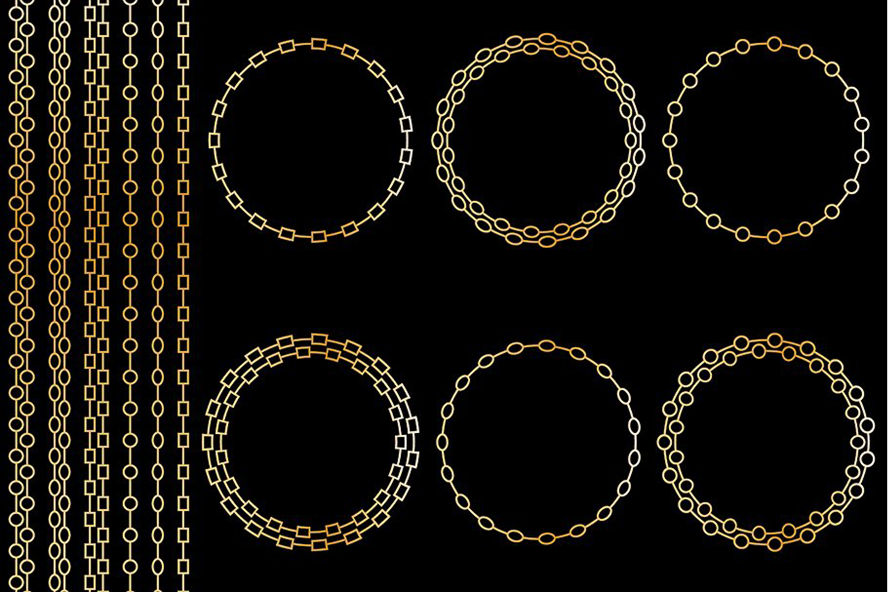 Chain Frames & Borders example image 3