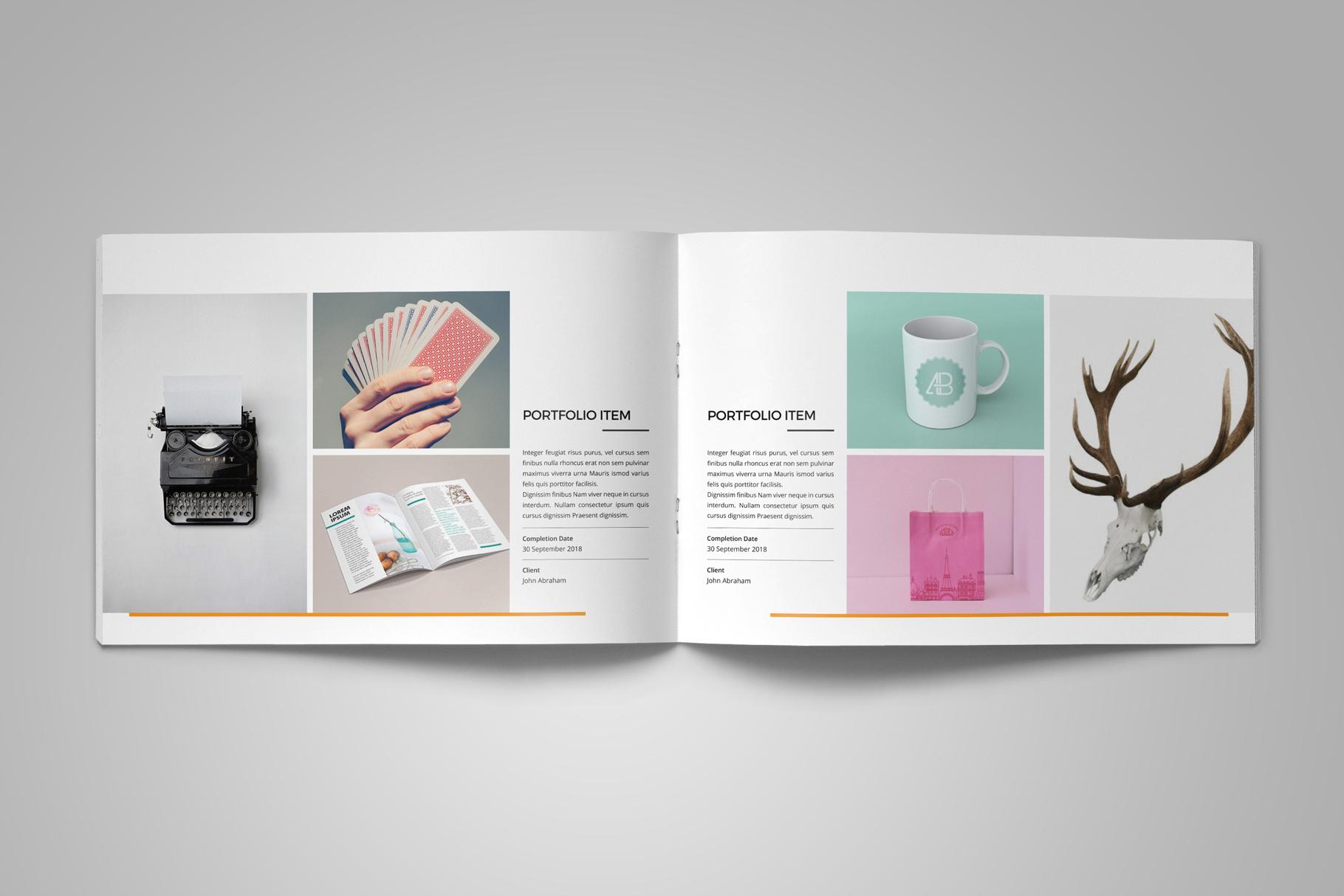 Portfolio Brochure Design v5 example image 10