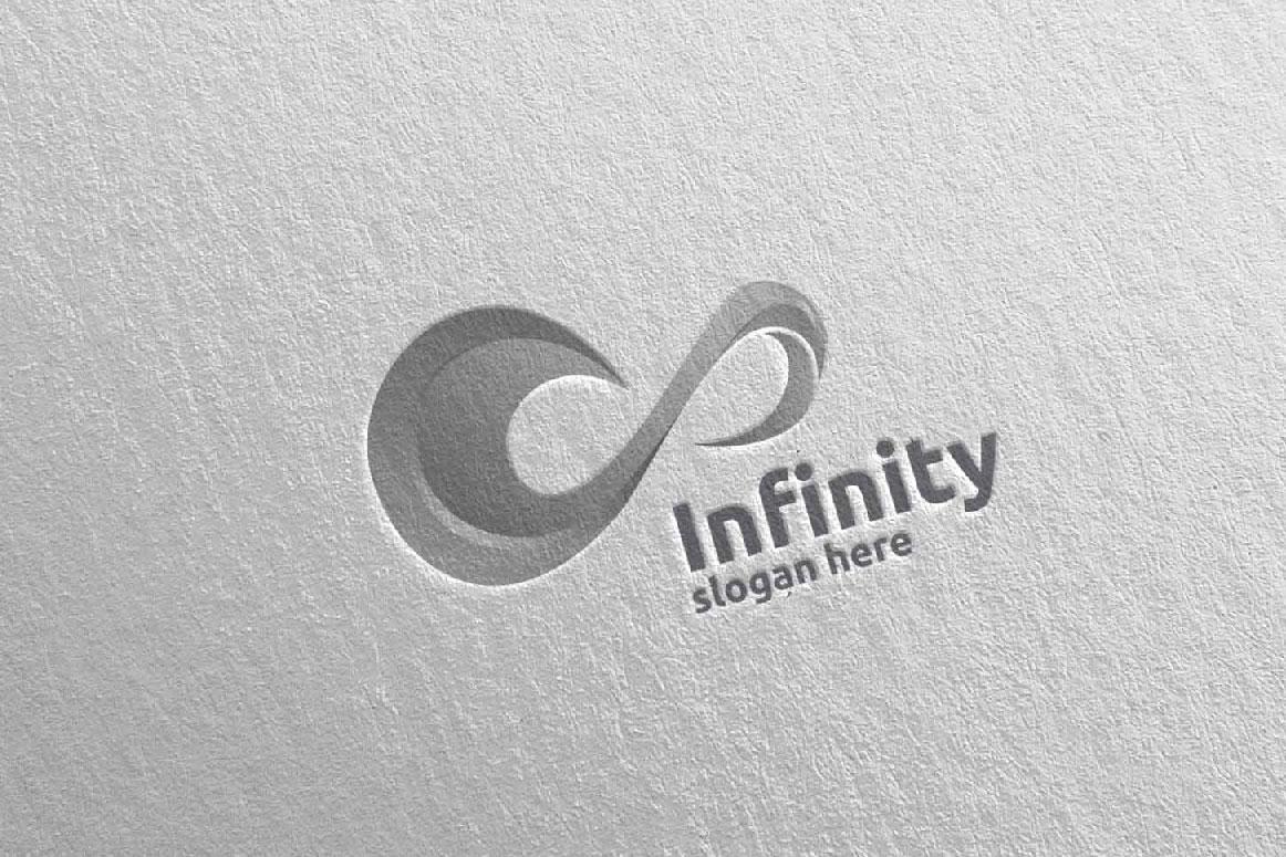 Infinity loop logo Design 4 example image 4