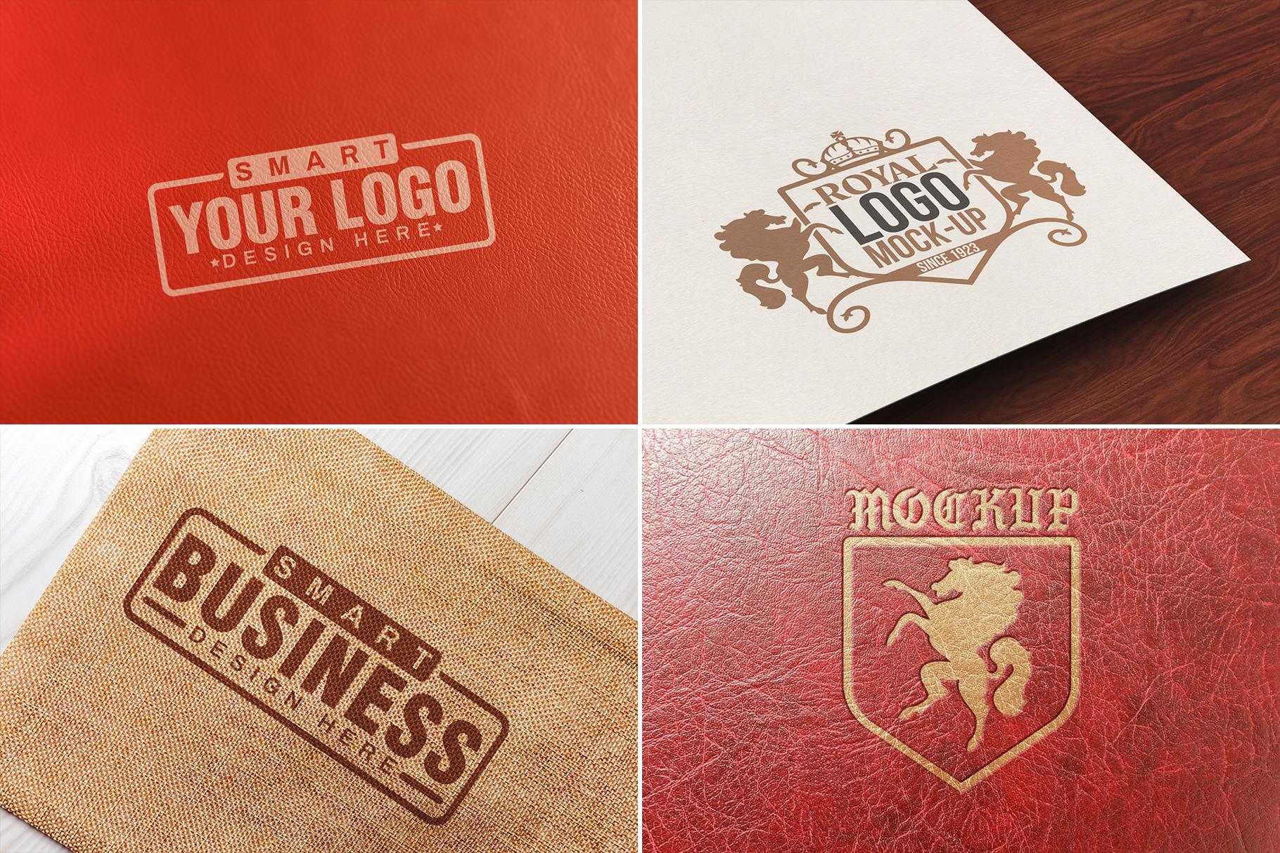 100 Logo Mockups Bundle Vol.1 example image 19