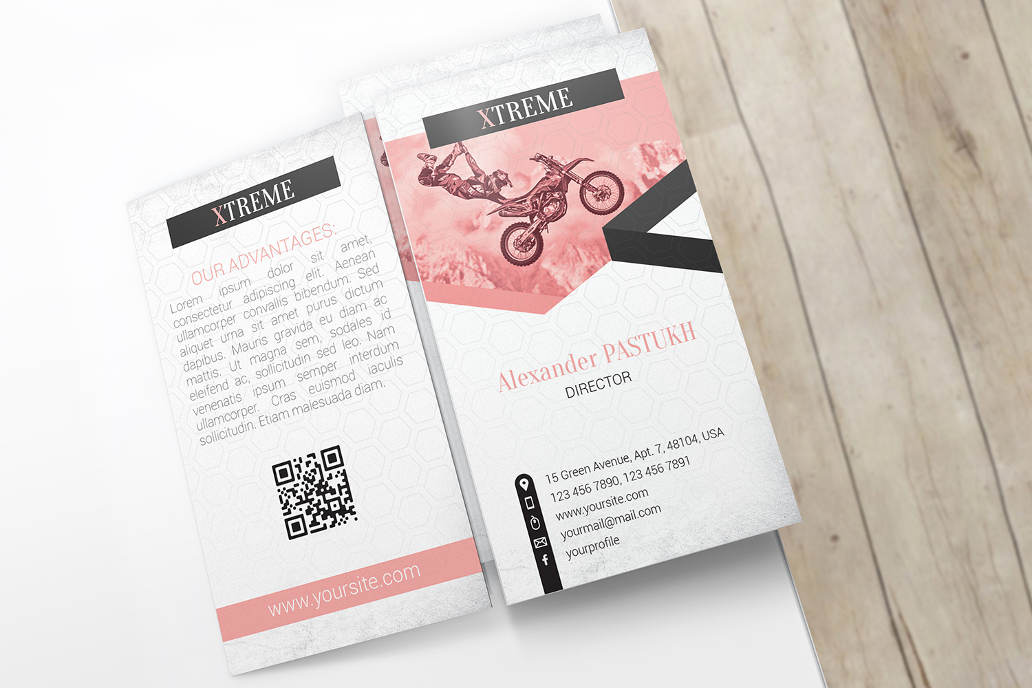 Business Card Mockups example image 10