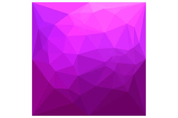 Byzantine Purple Abstract Low Polygon Background example image 1