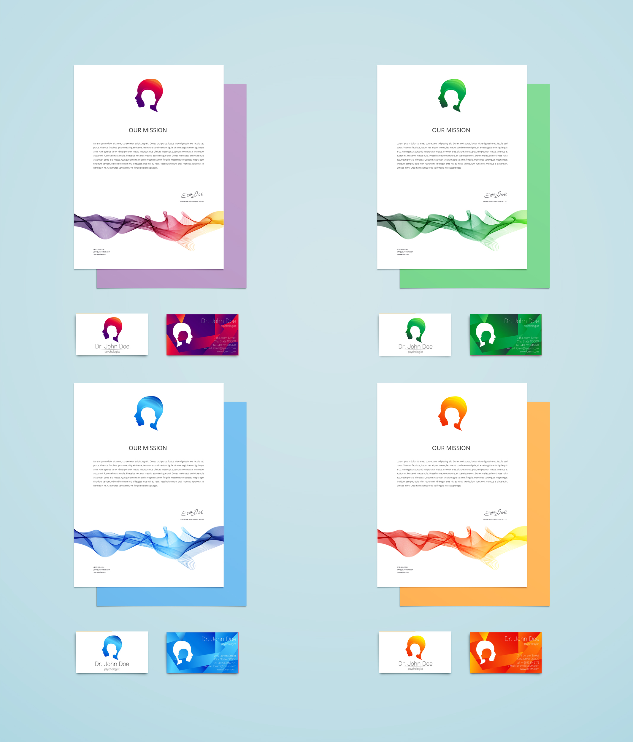 Branding Identity for Psychology  example image 5