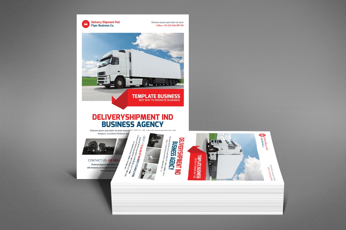 Delivery Shipment Flyer example image 2