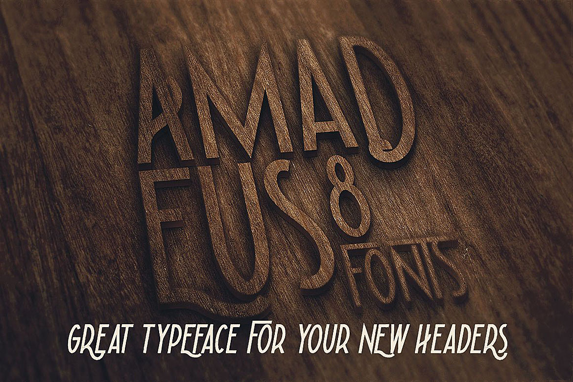 Amadeus - Display Font example image 5